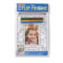 Melissa & Doug Month by Month Flip Frame (9324)