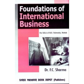 Foundation of International Business for BBA by FC Sharma