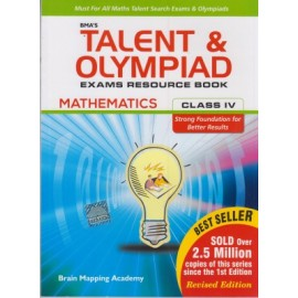 BMA's Talent & Olympiad Exams Resource Book Maths for Class 4