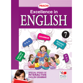 Prachi English Grammar Excellence In English for Class 7