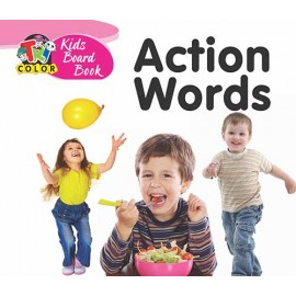 Tricolour Kids Board Book Action Words