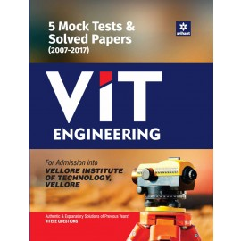 Arihant 10 Mock Tests & Solved Papers VIT (Vellore) Engineering 2017
