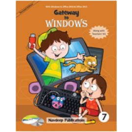 Navdeep Gateway to Windows Textbook for Class 7