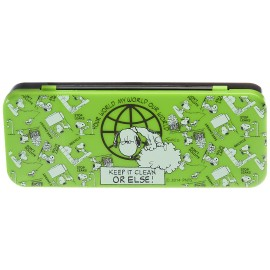 Snoopy Pencil Box (Green and Black)