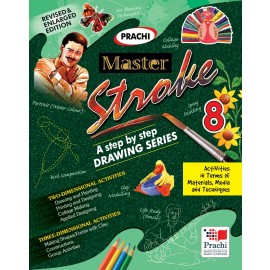 Prachi Master Stroke Drawing Book for Class 8
