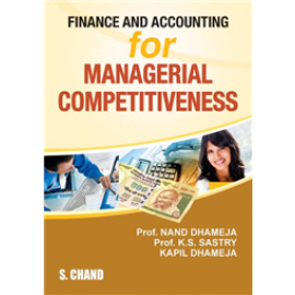 S Chand Finance and Accounting for Managerial Competitiveness