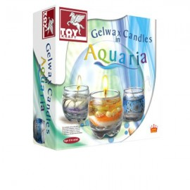 Toy Kraft Gel wax Candles Aquaria