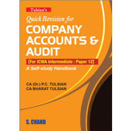 S Chand Tulsian's Quick Revision for Company Accounts & Audit