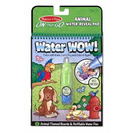 Melissa and Doug Water Wow Coloring Book Animals (5376)