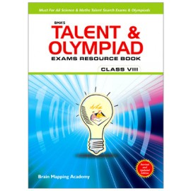 BMA's Talent & Olympiad Exams Resource Book Maths for Class 8