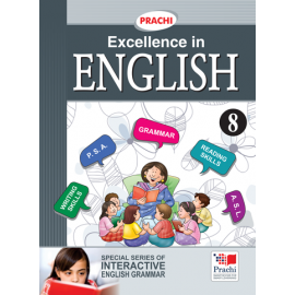 Prachi English Grammar Excellence In English for Class 8