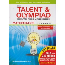BMA's Talent & Olympiad Exams Resource Book Maths for Class 3