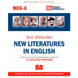 Straight Forward IGNOU M.A. English - New Literatures in English 2nd Year (MEG-08)
