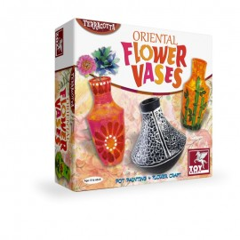 Toy Kraft Oriental Flower Vases