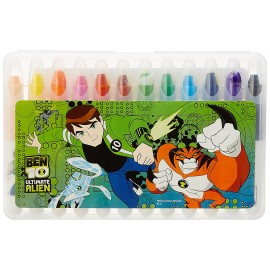 Ben 10 Gelly Crayons (Pack of 12)