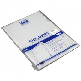 Solo Clear Holder Pack of 10 Pcs. F/C (LF111)