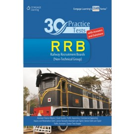 Cengage 30 Practice Tests RRB (Railway Recruitment Boards)