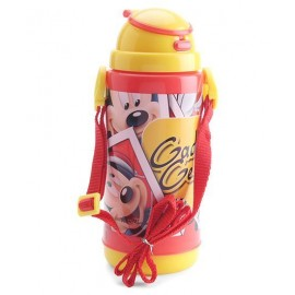 Disney Mickey Mouse Insulated Sipper Bottle Yellow And Red-400 ml