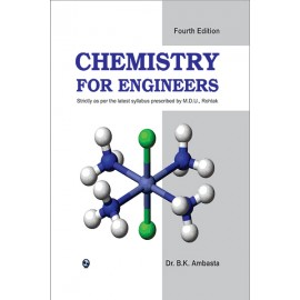 Chemistry For Engineers For MDU Rohtak by Laxmi Publications