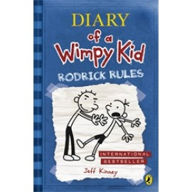 Diary of a Wimpy Kid-Rodrick Rules (Book 2) by Jeff Kinney