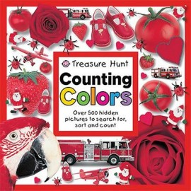 Treasure Hunt Counting Colors Board book by Priddy Books