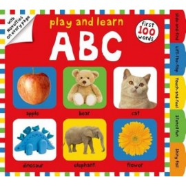 Play and Learn First 100 Words  ABC by Priddy Books