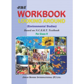 Jiwan Workbook Looking Around for Class 5 (EVS) by SK Puri