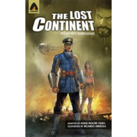 Campfire Novel The Lost Continent by Edgar Rice Burroughs