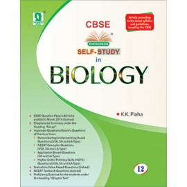 Evergreen CBSE Self-Study In Biology for Class 12