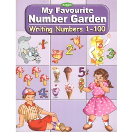Padma My Favourite Number Garden Writing Number 1-100 (P-034)
