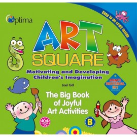 Optima Art Square-B for Pre Primary by Joel Gill