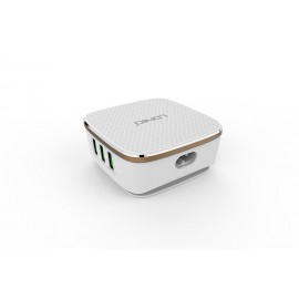 Premium 6-Usb Smart Desk Charger With Auto-Id (7a)