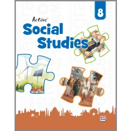 Full Circle Active Social Science for class 8 by A K Singh , Vineeta Saxena