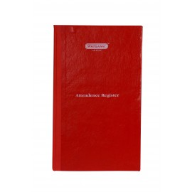 Writeaway Attendance Register Hard Bound Arrival Departure (Pages-192)