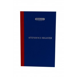 Writeaway Register Of  Attendance Register 31 Days (Pages-160)