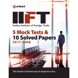 Arihant IIFT (Indian Institue of Foreign Trade) 5 Mock Tests and Solved Papers (2019)