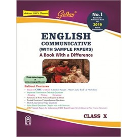 Golden (New Age) Guide of English Communicative for Class 10 (2018)