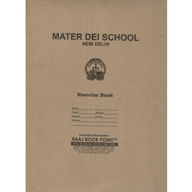 Mater Dei School Cover Brown (Pack of 10)