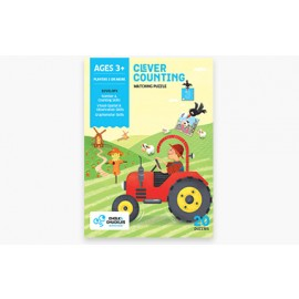 Chalk & Chuckles Clever Counting Matching Puzzle (CCPPL032)