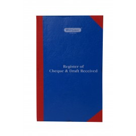 Writeaway Register of Cheque and Draft Received Register Hard Bound (Pages-400)