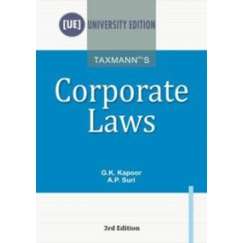 Corporate Laws by GK Kapoor (Taxmann)