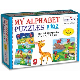 Creative Educational Aids Early Puzzles Step 2 - My Alphabet Puzzles A to Z (0793)