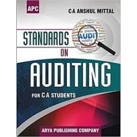 APC Standards on Auditing for CA Students by Anshul Mittal