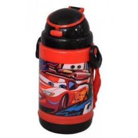 Car Insulated Sipper Bottle Red and Black (350 ml)
