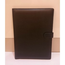 Button Closure Document Folder (Leatherite) with Pen Holder Code-1227