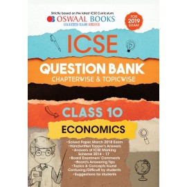 Oswaal ICSE Question Bank Chapterwise Economcis for Class 10  (2019)