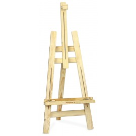 Isomars Wooden Easel - 3 Legs 5' Ft. Height - 2'' Narraw Legs - Artist