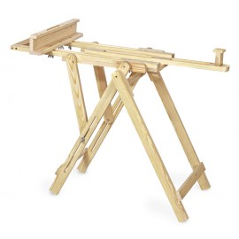 Isomars Wooden Easel - 4 Legs 4' Ft. Height - Studio