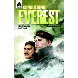 Campfire Novel Conquering Everest: The Lives of Edmund Hillary and Tenzing Norgay by Lewis Helfand