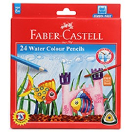 Faber-Castell Water Color Pencils (24 Shades) Full Length